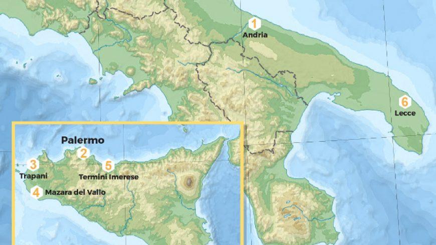 CAMPIONAMENTO SICILIA E PUGLIA